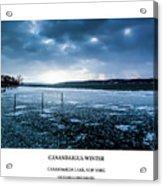 Canandaigua Lake Winter Acrylic Print