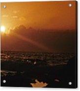 Canary Islands Sunset Acrylic Print
