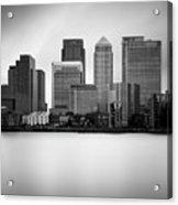 Canary Wharf II, London Acrylic Print