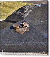Canberra Veterans Statue Acrylic Print