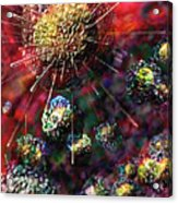 Cancer Cells Acrylic Print
