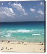 The Best View Of The Beach Acrylic Print