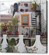 Cancun City Scenes Acrylic Print