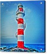 Cancun Lighthouse  Acrylic Print