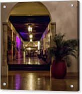 Cancun Mexico - Chichen Itza - Mayan Dining Hall Acrylic Print