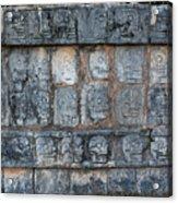 Cancun Mexico - Chichen Itza - Skull Platform Acrylic Print
