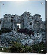 Cancun Mexico - Tulum Ruins - Palace Acrylic Print