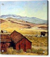Canderia Nevada Acrylic Print by Evelyne Boynton Grierson