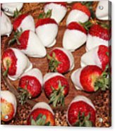 Candied Strawberries Acrylic Print