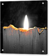 Candle Color Acrylic Print