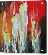 Candle Dance  Acrylic Print