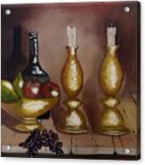 Candle Sticks Acrylic Print