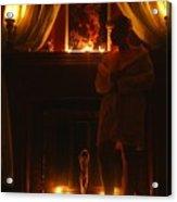 Candlelight Glow Acrylic Print