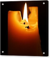 Candlelight Acrylic Print by Rona Black