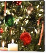Candles For Christmas 2 Acrylic Print