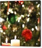 Candles For Christmas 3 Acrylic Print