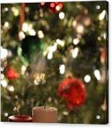 Candles For Christmas 4 Acrylic Print