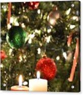 Candles For Christmas 5 Acrylic Print