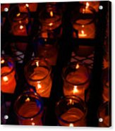 Candles For Mother Maria Acrylic Print