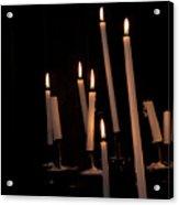 Candles Acrylic Print