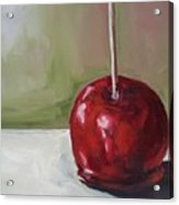 Candy Apple Acrylic Print