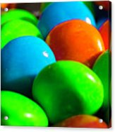 Candy Coated Acrylic Print