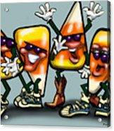 Candy Corn Gang Acrylic Print