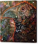 Candy Crow Acrylic Print