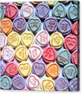 Candy Love Acrylic Print