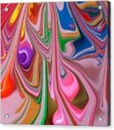 Candy Melt Acrylic Print