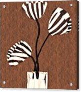 Candy Stripe Tulips 3 Acrylic Print