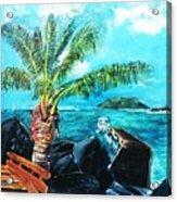 Cane Garden Bay Tortola 1997 Acrylic Print
