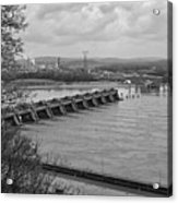 Cannelton Locks And Dam Acrylic Print