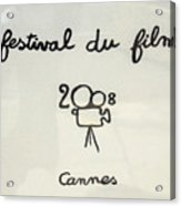 Cannes 2008 Acrylic Print