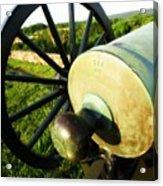 Cannon At Antietam Acrylic Print