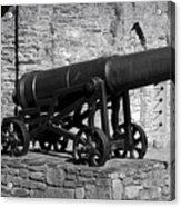 Cannon At Macroom Castle Ireland Acrylic Print