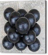 Cannon Balls Acrylic Print