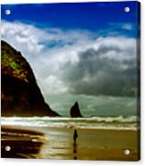 Cannon Beach At Dusk IIi Acrylic Print