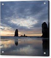 Cannon Beach At Sunset 5 Acrylic Print