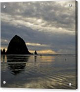 Cannon Beach Reflections Acrylic Print