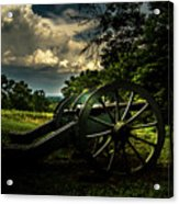 Cannon Encampment Valley Forge Acrylic Print