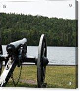 Cannon Protection Acrylic Print