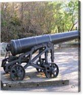 Cannon Acrylic Print by Richard Mitchell