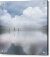Canoe In The Clouds  Acrylic Print