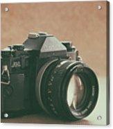 Canon A1 Acrylic Print
