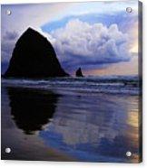 Cannon Beach Nature's Symphony Acrylic Print