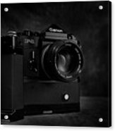 Canon F-1 Acrylic Print