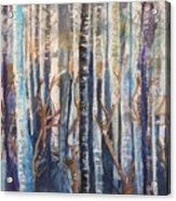 Can't See The Forest Acrylic Print