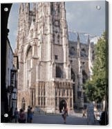 Canterbury Cathedral England Acrylic Print