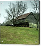 Cantilever Barn Sevier County Tennessee Acrylic Print